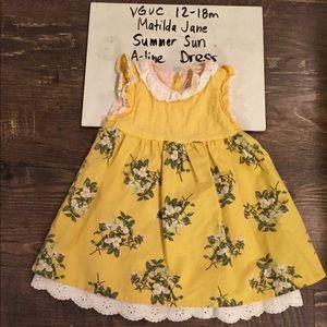VGUC 6-12 m Matilda Jane Summer Sun Dress